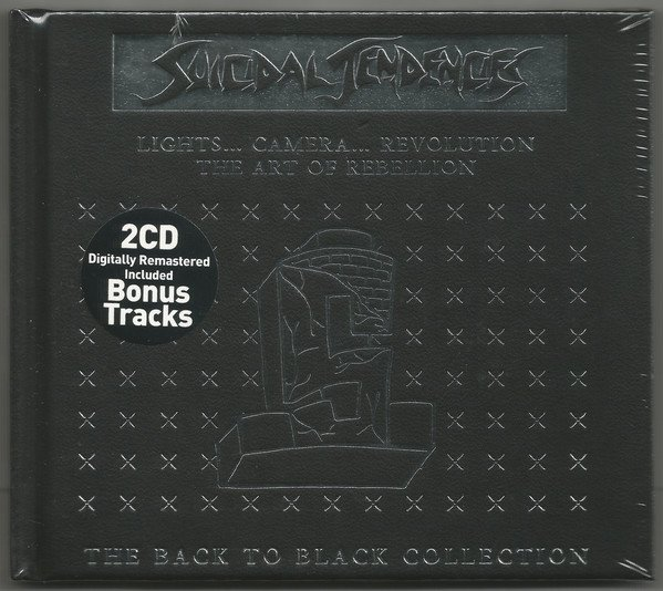 Suicidal Tendencie - Lights Camera Revolution / The Art Of Rebellion - The Back To Black Collection