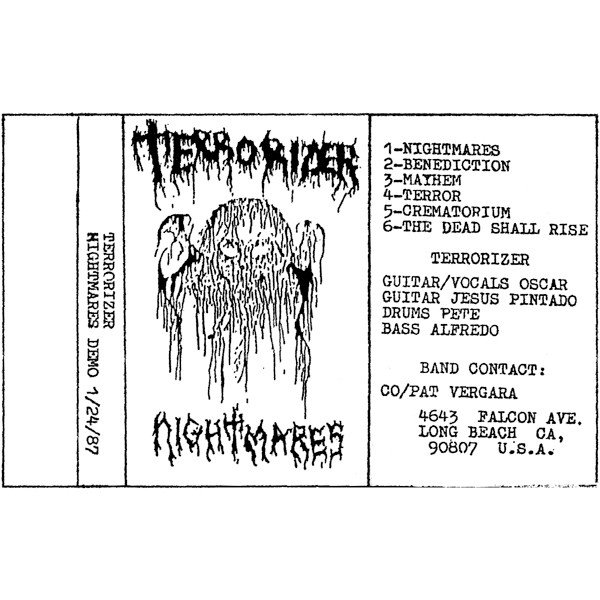 Terrorizer - Nightmares Demo 1/24/87