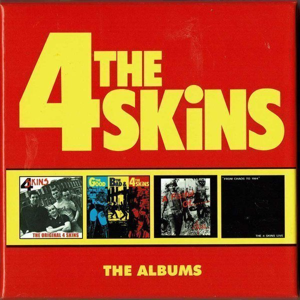 The 4 Skins - The Albums