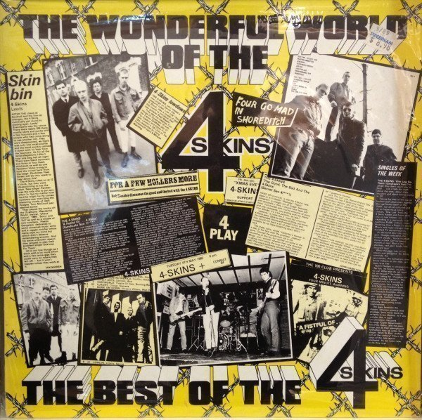 The 4 Skins - The Wonderful World Of The 4 Skins (The Best Of The 4 Skins)