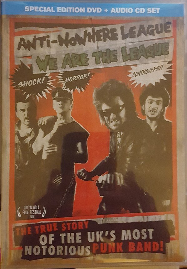 The Anti Nowhere League - We Are The League