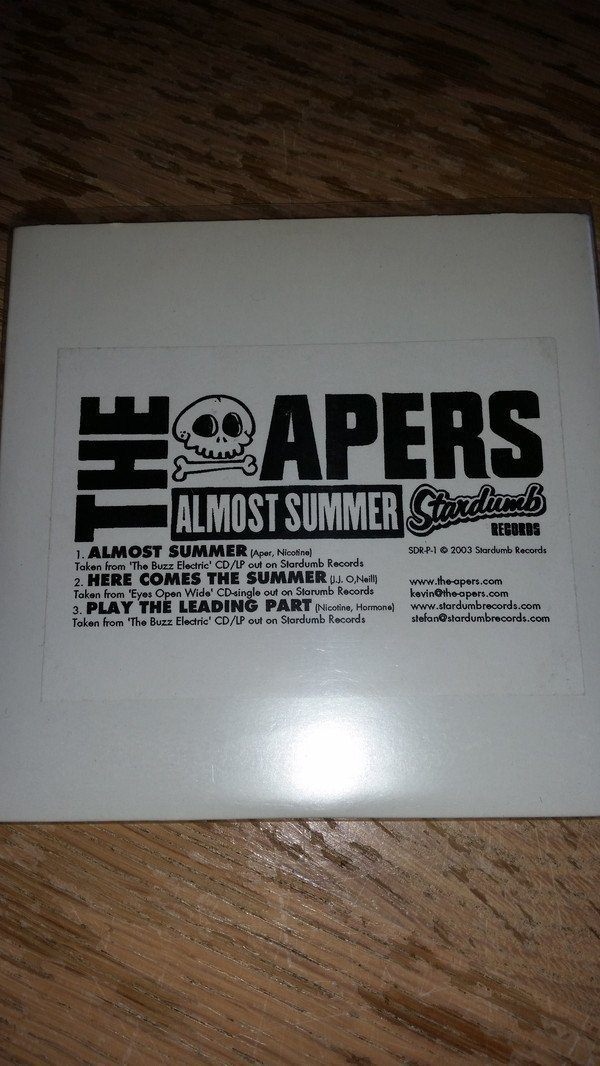 The Apers/sons Of Budha - Almost Summer