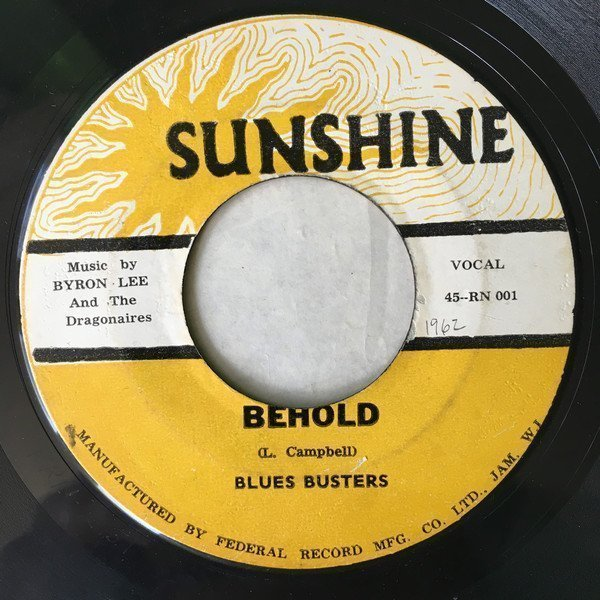 The Blues Busters - Behold / Oh! Baby