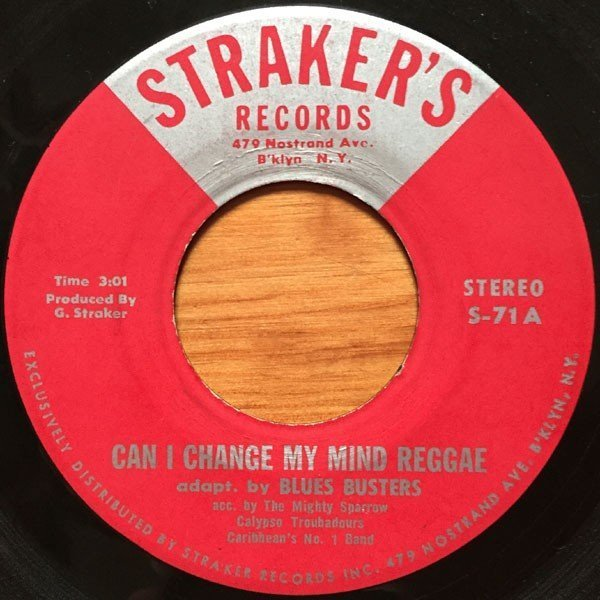 The Blues Busters - Can I Change My Mind Reggae / Hey Jude