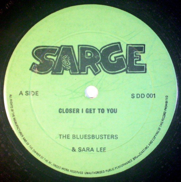 The Blues Busters - Closer I Get To You / Three Times A Lady