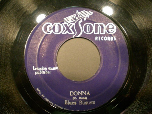 The Blues Busters - Donna / One Love