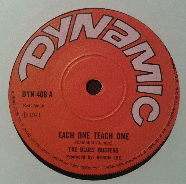 The Blues Busters - Each One Teach One / Thinking Of You
