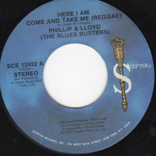 The Blues Busters - Here I Am Come And Take Me (Reggae) / I Shot The Sheriff (Reggae)