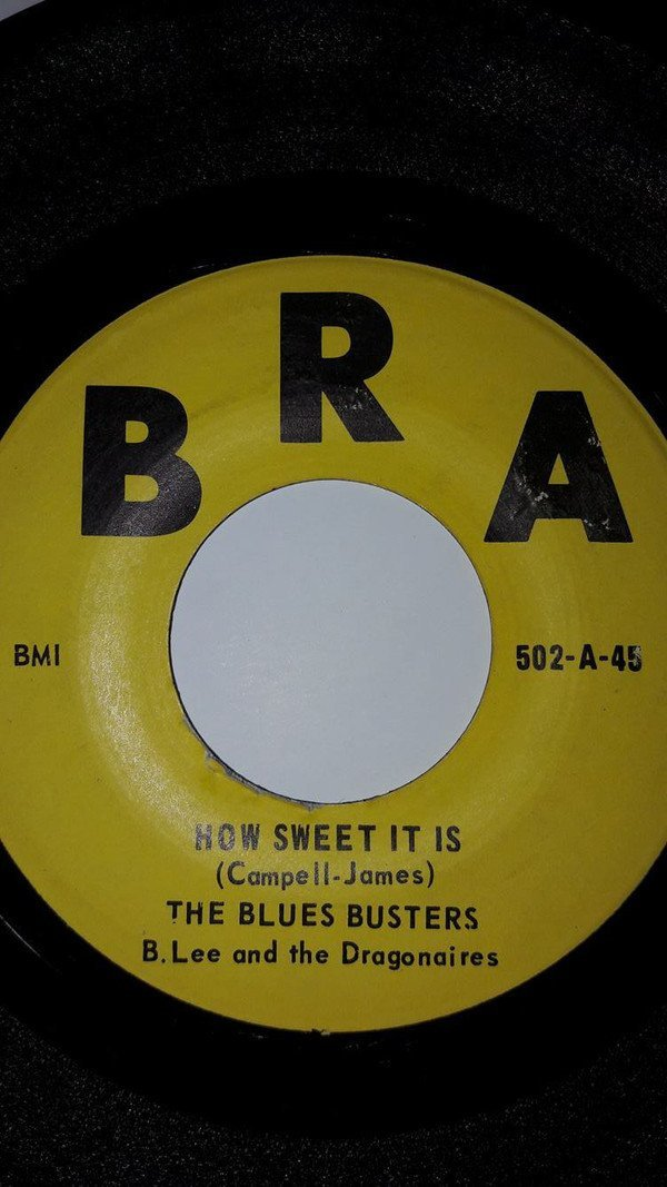 The Blues Busters - How Sweet It Is / Behold