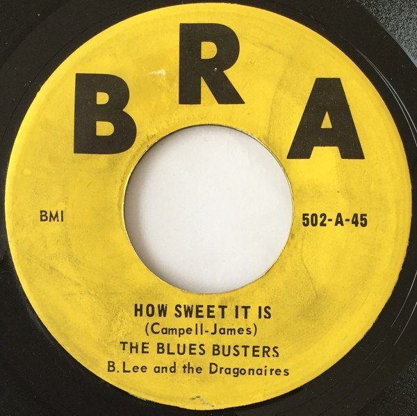 The Blues Busters - How Sweet It Is / The Record