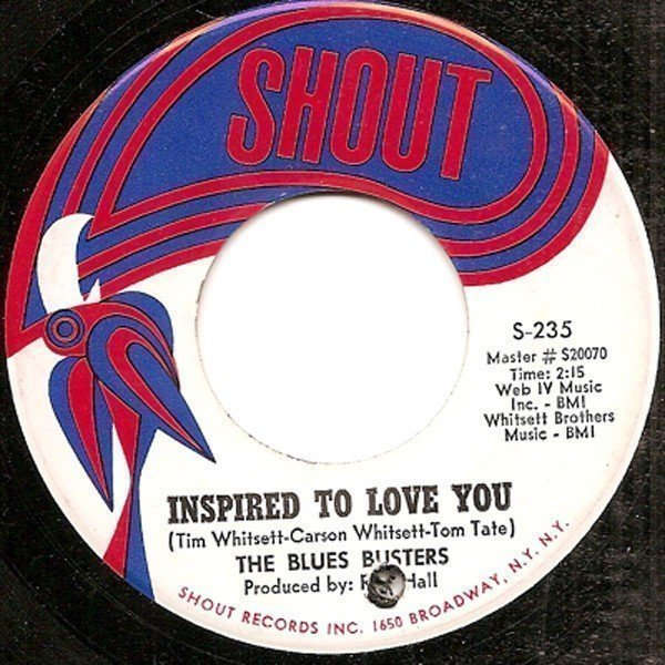 The Blues Busters - Inspired To Love You / I Can