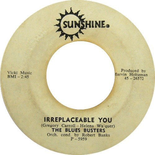 The Blues Busters - Irreplaceable You / I