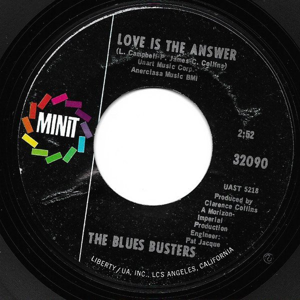 "The Blues Busters - ""Love Is The Answer"""