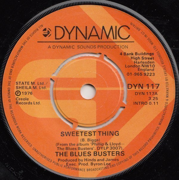 The Blues Busters - Sweetest Thing