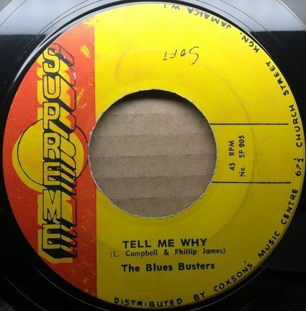 The Blues Busters - Tell Me Why / I