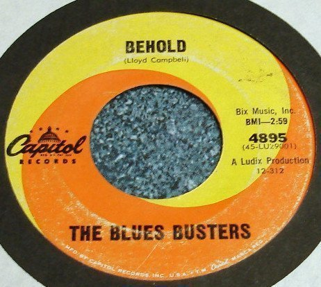 The Blues Busters - Tell My Why / Behold