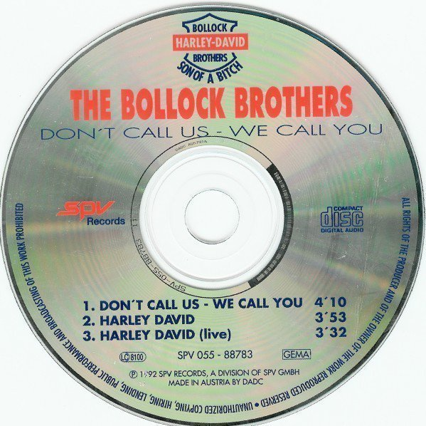 The Bollock Brothers - Don