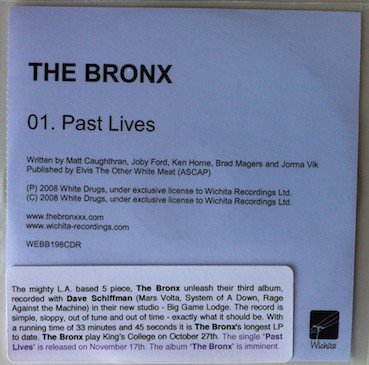 The Bronx - Past Lives