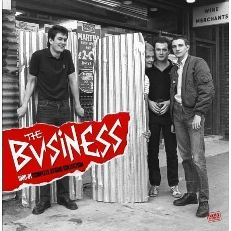 The Business - 1980-81 Complete Studio Collection