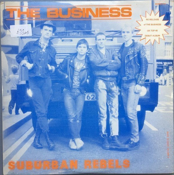 The Business - Back To Back Volume 2 - Suburban Rebels / Smash The Discos