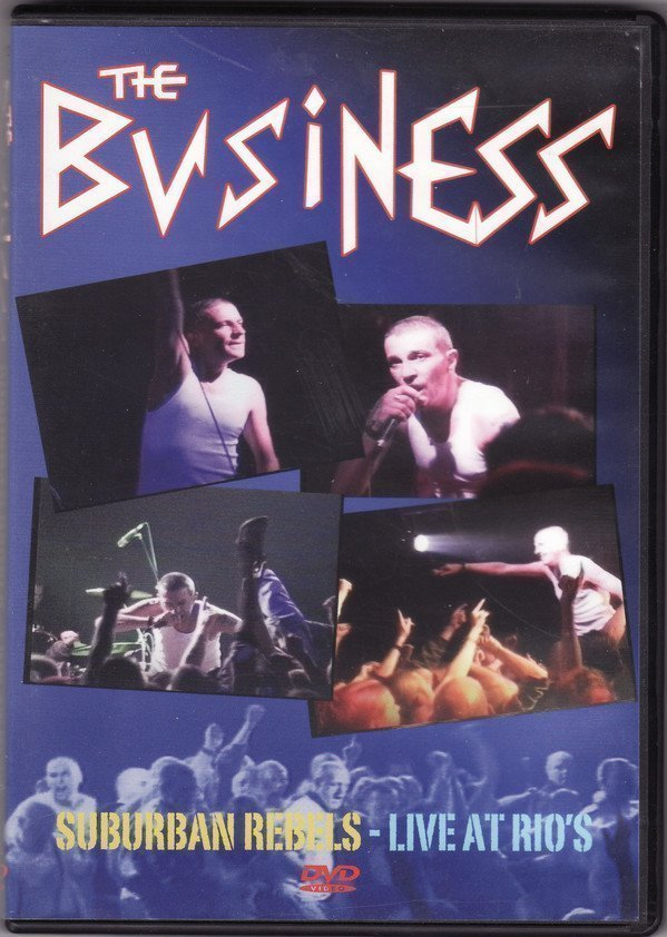The Business - Suburban Rebels - Live At Rio