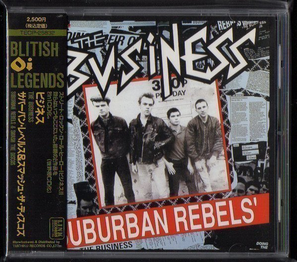 The Business - Suburban Rebels / Smash The Disco