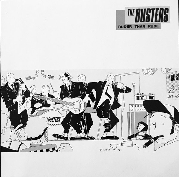 The Busters - Ruder Than Rude