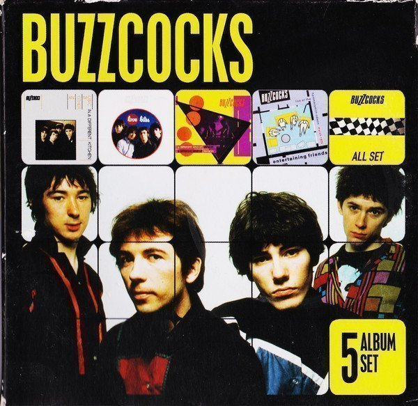 The Buzzcocks - 5 Album Set
