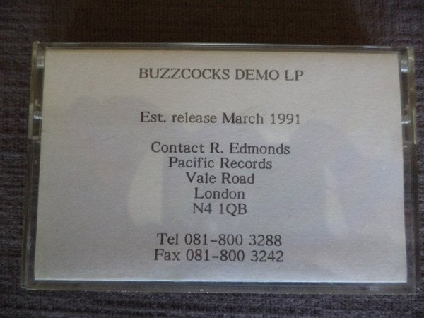 The Buzzcocks - Demo LP