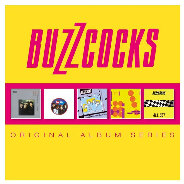The Buzzcocks - Original Album Series