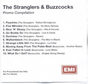 The Buzzcocks - The Stranglers & Buzzcocks Promo Compilation