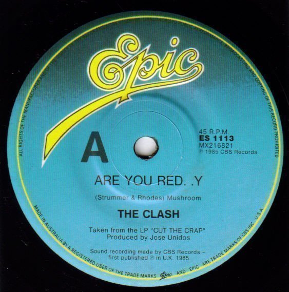 The Clash - Are You Red..y