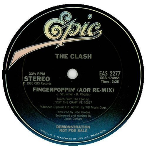 The Clash - Fingerpoppin