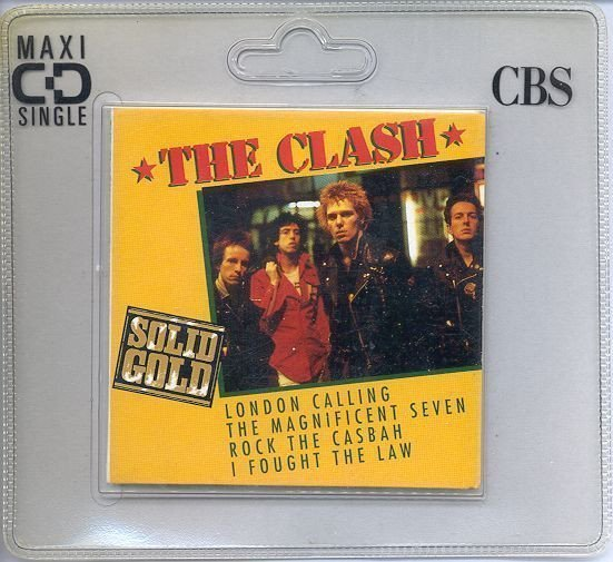 The Clash - London Calling / The Magnificent Seven / Rock The Casbah / I Fought The Law