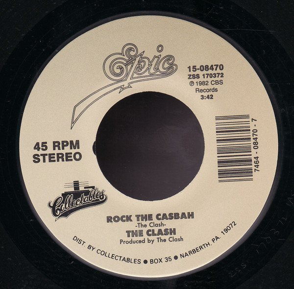 The Clash - Rock The Casbah / Should I Stay Or Should I Go