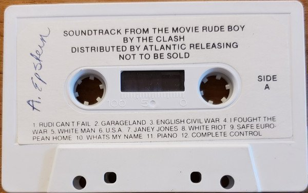The Clash - Soundtrack From The Movie Rude Boy
