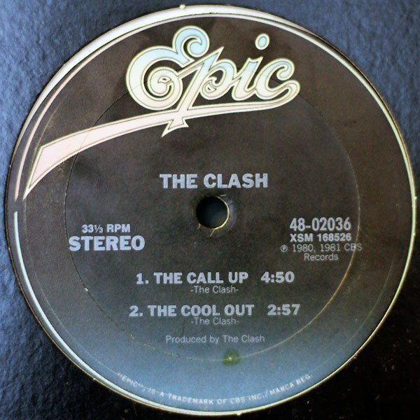 The Clash - The Call Up / The Cool Out / The Magnificent Dance / The Magnificent Seven