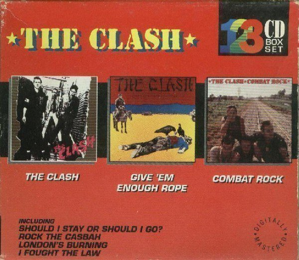 The Clash - The Clash 123 CD Box Set-The Clash / Give