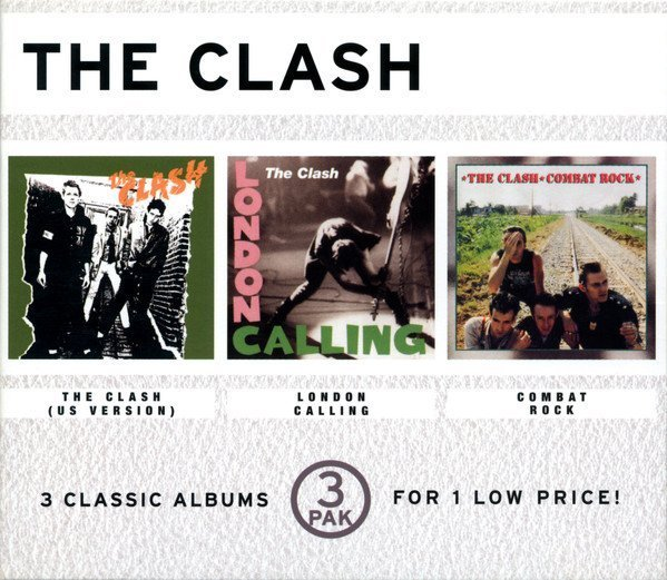 The Clash - The Clash (US Version) / London Calling / Combat Rock