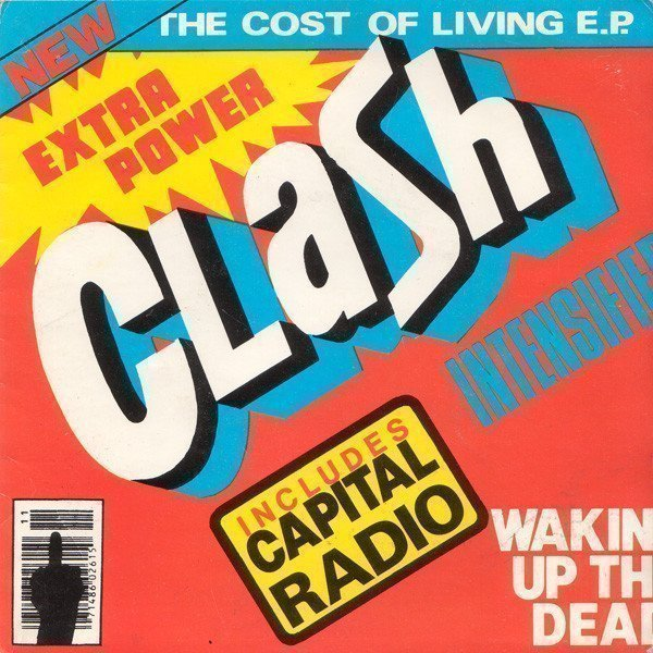 The Clash - The Cost Of Living E.P.