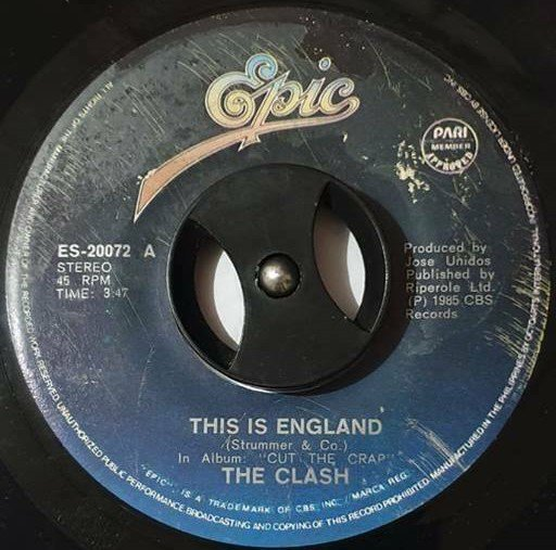 The Clash - This Is England / Death Is A Star