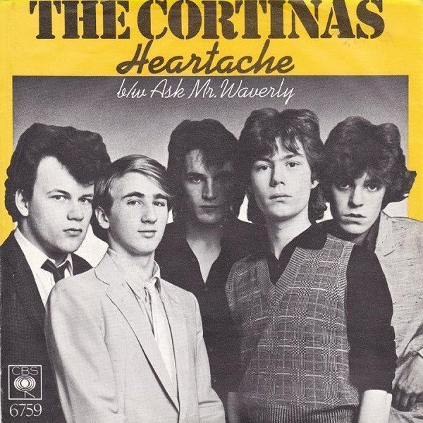 The Cortinas - Heartache