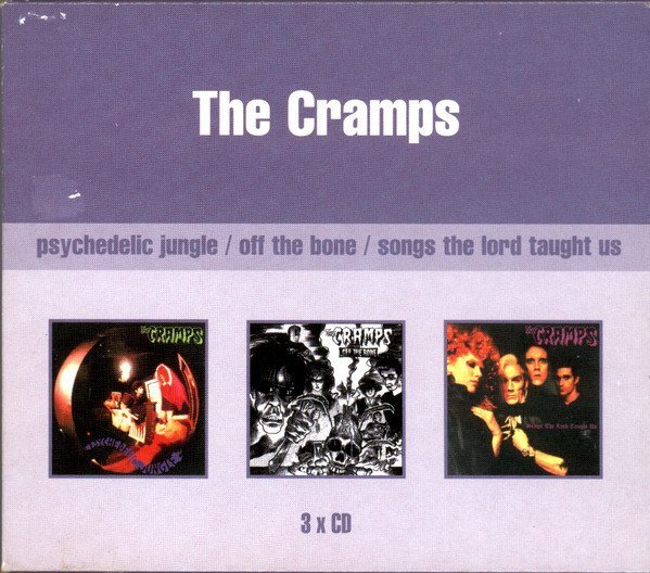The Cramps - Psychedelic Jungle / Off The Bone / Songs The Lord Taught Us