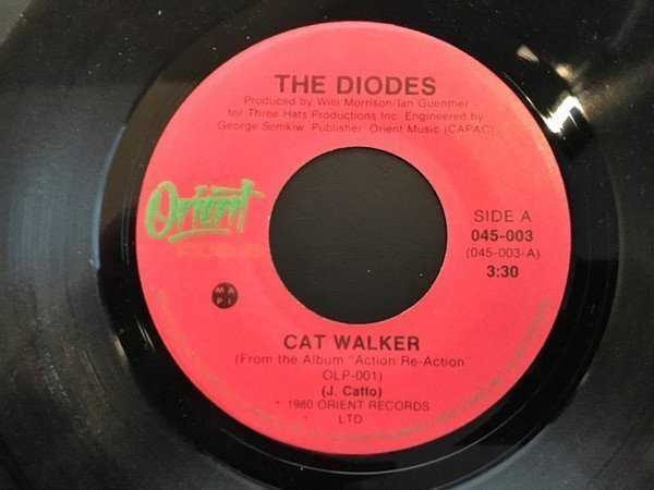 The Diodes - Cat Walker / Action Re-Action