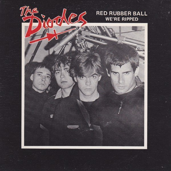 The Diodes - Red Rubber Ball