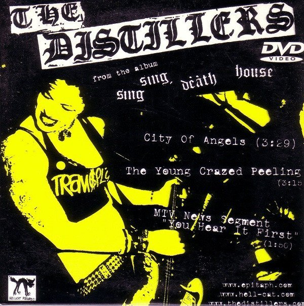 The Distillers - City Of Angels / The Young Crazed Peeling