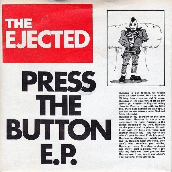 The Ejected - Press The Button E.P.