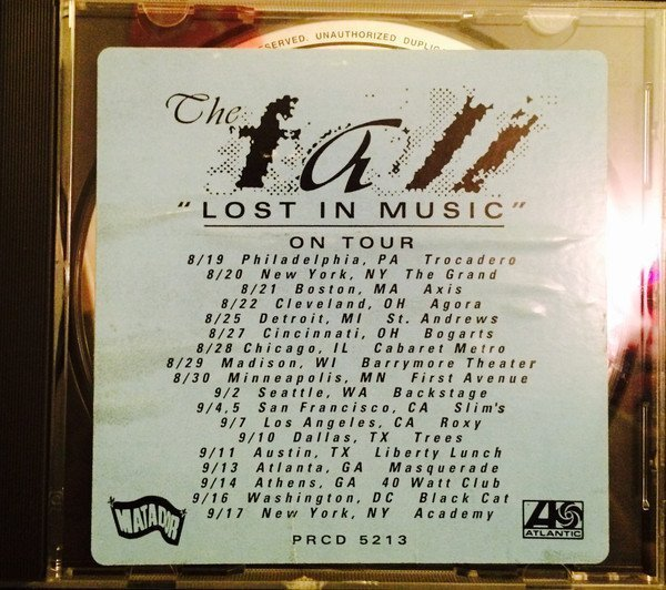 The Fall - Lost In Music