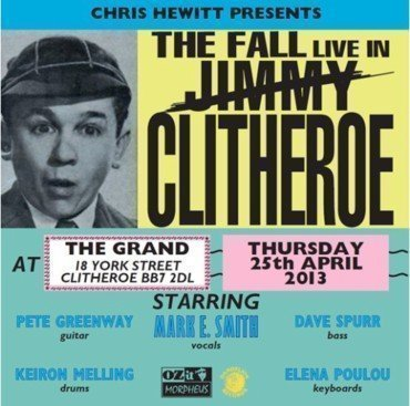 The Fall - The Fall Live In Clitheroe