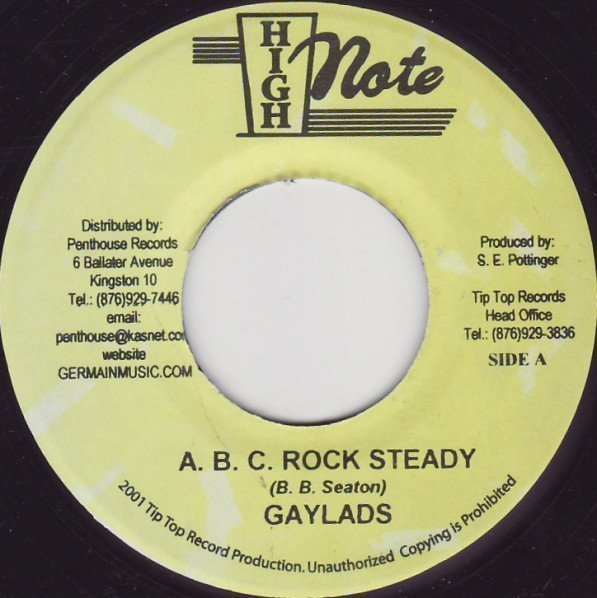 The Gaylads - A. B. C. Rock Steady / My Love